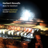 Herbert Howells Music for Clavichord