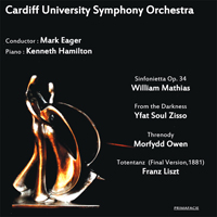 Cardiff University Symphony Orchestra CD