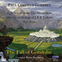 The Fall of Gondolin CD